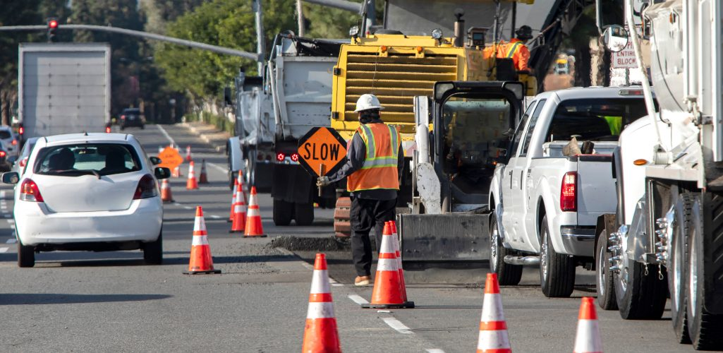 Be Extra Careful Driving in Work Zones